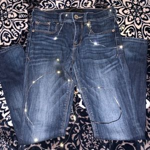 Express jeggings size 0